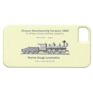 Dicksonの切換え機関車1886年 iPhone SE/5/5s ケース