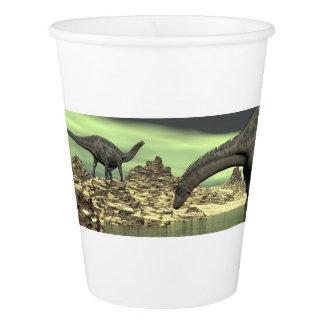 Dicraeosaurusの恐竜- 3Dは描写します 紙コップ