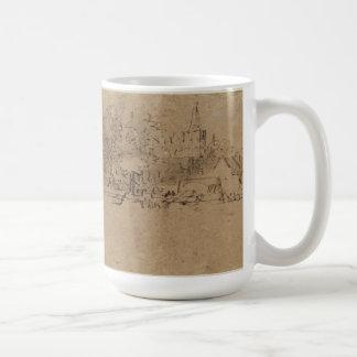 Diemen (レンブラント)の眺め コーヒーマグカップ
