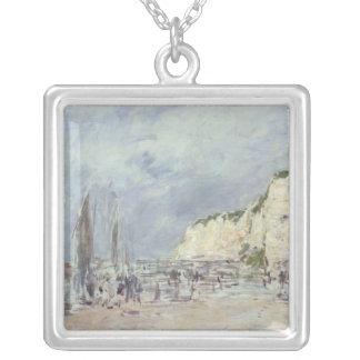 Dieppeおよび「小さいパリの崖 シルバープレートネックレス