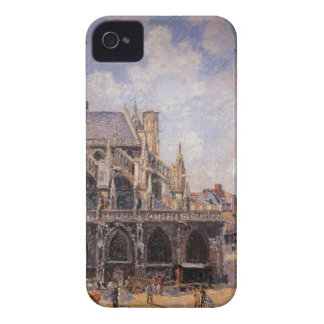 Dieppe、朝日曜日のStジェイクスの教会 Case-Mate iPhone 4 ケース