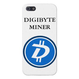 DIGIBYTE抗夫のIphoneの銀河系の箱 iPhone 5 Case