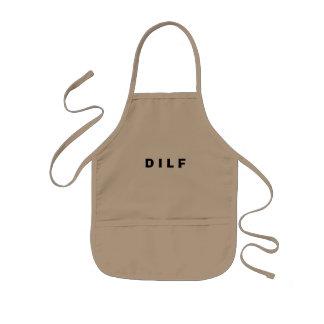 DILFのエプロン 子供用エプロン