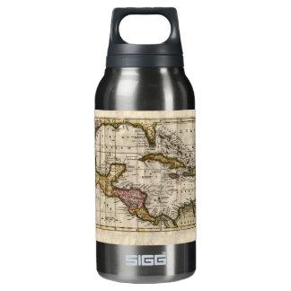 Dillyおよびロビンソン著西インド諸島の1790地図 断熱ウォーターボトル