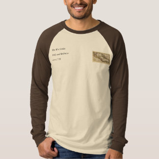 Dillyおよびロビンソン著西インド諸島の1790地図 Tシャツ