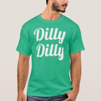 DillyのDillyのセントパトリックの日のワイシャツ Tシャツ