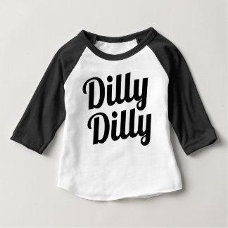 DillyのDillyのベビーのワイシャツ ベビーTシャツ