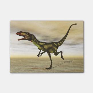 Dilongの恐竜- 3Dは描写します ポストイット