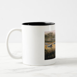 DimetrodonおよびEryops ツートーンマグカップ