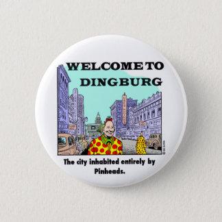 Dingburgへの歓迎 5.7cm 丸型バッジ