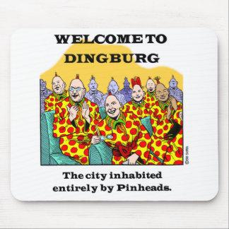 Dingburg #3への歓迎 マウスパッド