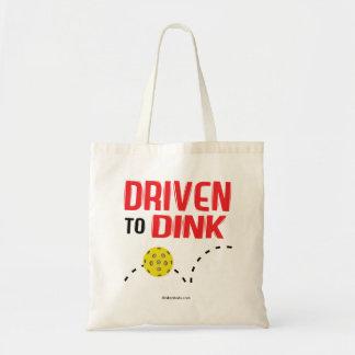 """""""Dink"""" Pickleballのトートバックに運転されて トートバッグ"""