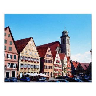 Dinkelsburhlの写真のプリント フォトプリント