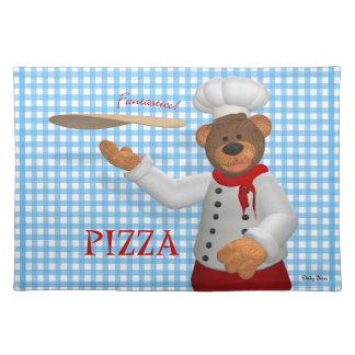 Dinkyくまピザパン屋 ランチョンマット