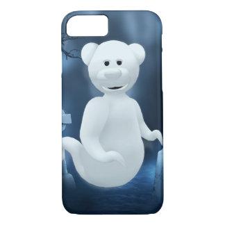 Dinkyくま: 小さい幽霊 iPhone 7ケース