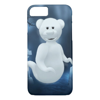 Dinkyくま: 小さい幽霊 iPhone 8/7ケース