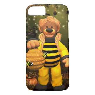 Dinkyくま: 小さい蜂 iPhone 8/7ケース