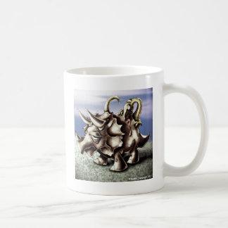 Dinosaur4トリケラトプス コーヒーマグカップ