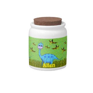 Dinosaur Candy Jar キャンディー皿