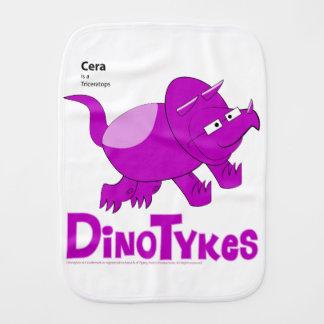 Dinotykes Ceraはトリケラトプスです。 げっぷの布 バープクロス