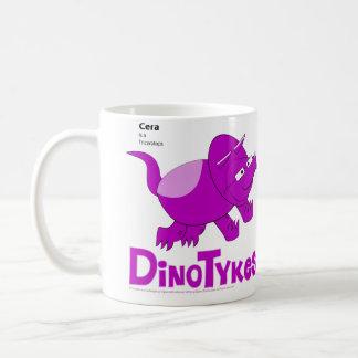 Dinotykes Ceraはトリケラトプスです コーヒーマグカップ