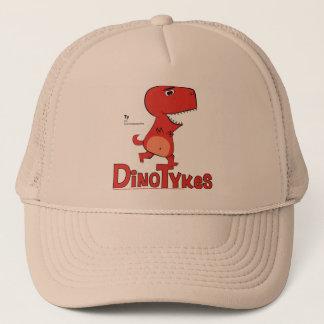 Dinotykes Tyはトラック運転手の帽子のティラノサウルス・レックスです キャップ