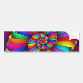Dioclesの抽象芸術の罰金のフラクタルの芸術のCissoid バンパーステッカー