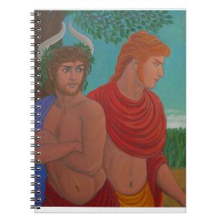 Dionysusおよびアポロノート ノートブック