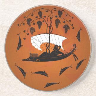 Dionysusおよびイルカのコースター コースター