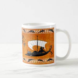 Dionysusおよび海賊スタイルのマグ コーヒーマグカップ
