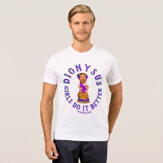 Dionysusの女の子それは謝肉祭の女性上をよくします Tシャツ