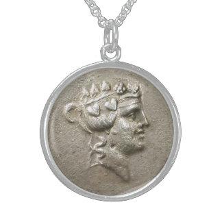 Dionysus Tetradrachm スターリングシルバーネックレス