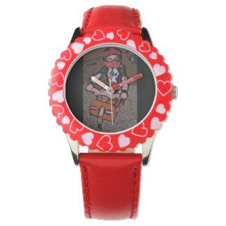 Dirtbikeの男の子の腕時計 腕時計