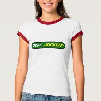 discjockey tシャツ