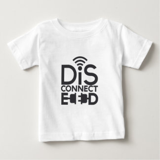 disconnected.png ベビーTシャツ
