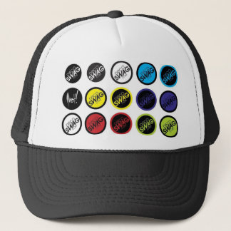discoSWAGはロゴに点を打ちます キャップ