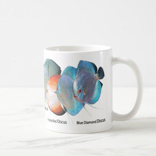 Discus fishのマグカップ コーヒーマグカップ
