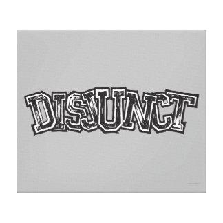 Disjunct キャンバスプリント