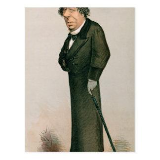 Disraeli、ベンジャーミン ポストカード