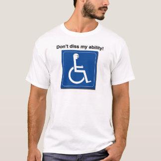 diss私の能力 tシャツ