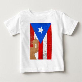 distessed elモロプエルトリコ.png ベビーTシャツ
