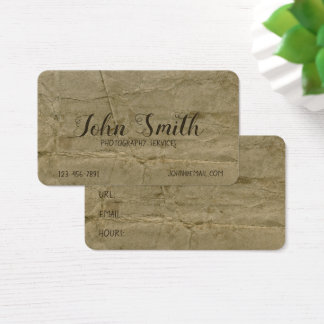 Distressed Grungy Aged Stained Ancient Background 名刺