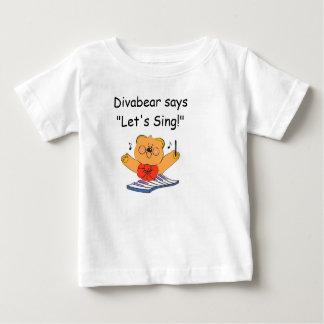 Divabearのワイシャツ ベビーTシャツ