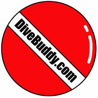 DiveBuddy.comのキーホルダー 写真彫刻キーホルダー