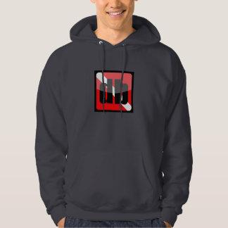 DiveBuddy.comのフード付きスウェットシャツ パーカ
