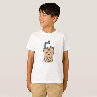 Diving Boba Pearl Tea Kids Shirt Tシャツ
