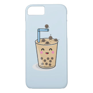 Diving Boba Pearl Tea Phone Case iPhone 8/7ケース