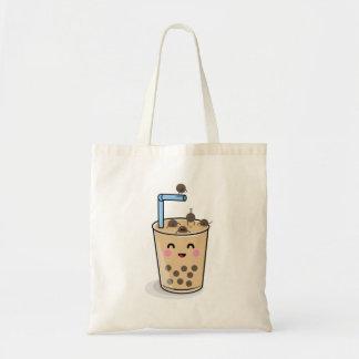 Diving Boba Pearl Tea Tote Bag トートバッグ