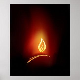 Diwaliの挨拶 ポスター