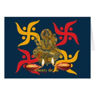 Diwali Deepawali グリーティングカード